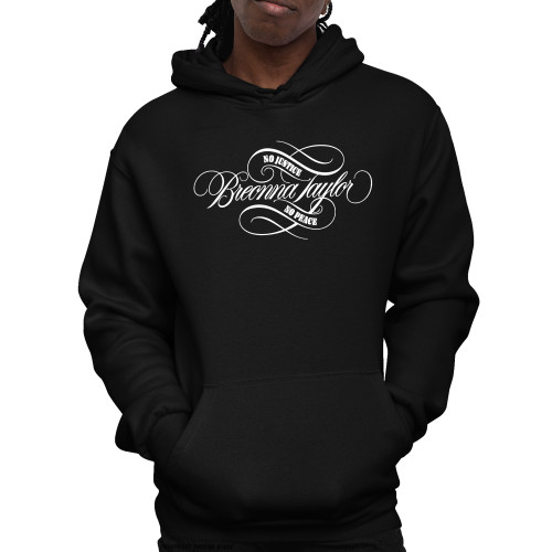 Breonna Taylor - No Justice No Peace Signature Unisex Pullover Hoodie