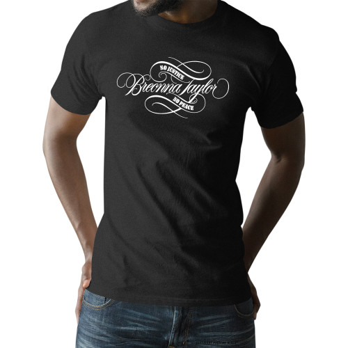 Breonna Taylor - No Justice No Peace Signature Unisex T-Shirt