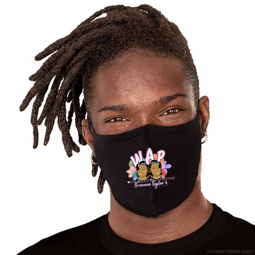 W.A.P. What About Prosecuting Breonna Taylor's Killers Washable Face Mask
