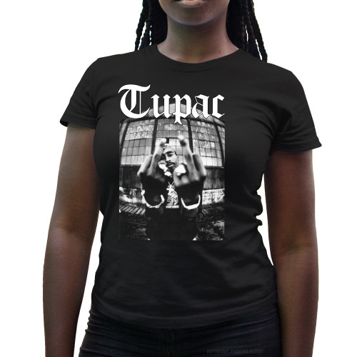 Tupac Me Against the World Ladies T-Shirt