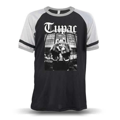 Tupac Me Against the World Unisex Raglan T-Shirt