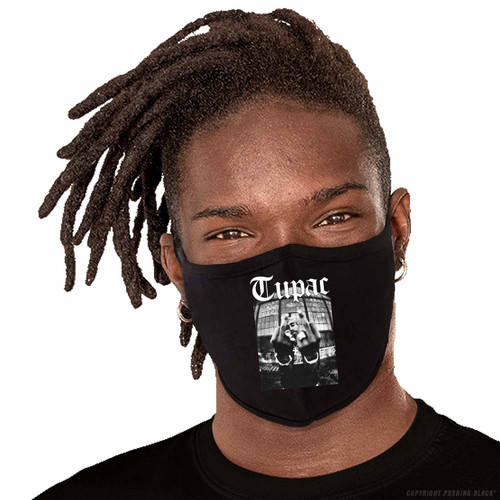 Tupac Me Against the World Washable Face Mask
