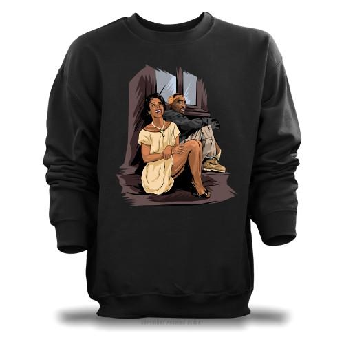 Tupac and Dorthy Dandridge Unisex Sweatshirt