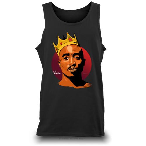 King Tupac Shakur Unisex Tank Top
