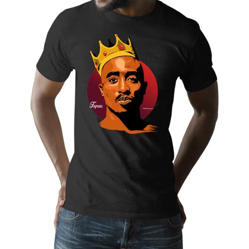 King Tupac Shakur Unisex T-Shirt