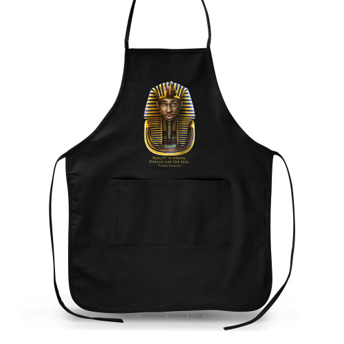 Tupac Pharaoh Detailed - Reality is Wrong Apron
