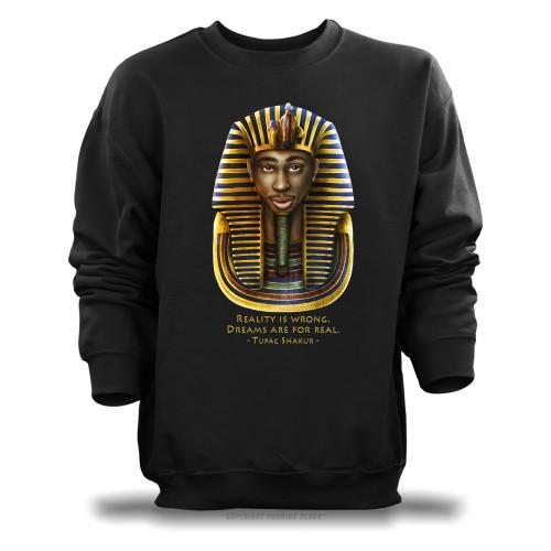 Tupac Pharaoh Detailed - Reality is Wrong Unisex Sweatshirt