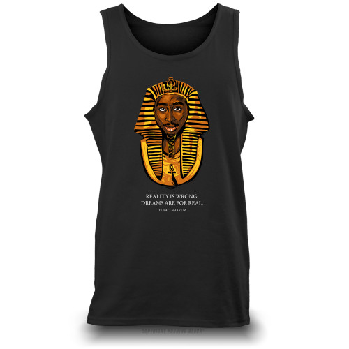 Tupac Pharaoh - Dreams Are For Real Unisex Tank Top