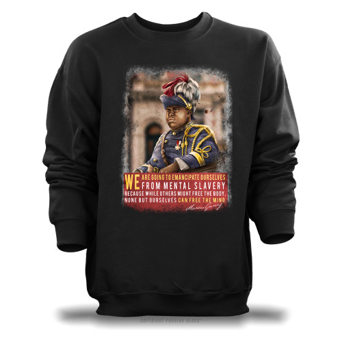 Marcus Garvey - Emancipate Ourselves from Mental Slavery Unisex Sweatshirt