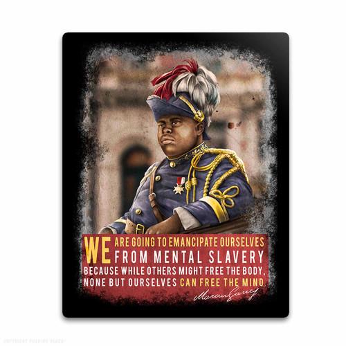 Marcus Garvey - Emancipate Ourselves from Mental Slavery Weatherproof Vinyl Decal