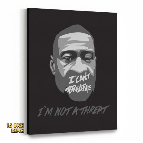 George Floyd - I'm Not A Threat Premium Wall Canvas