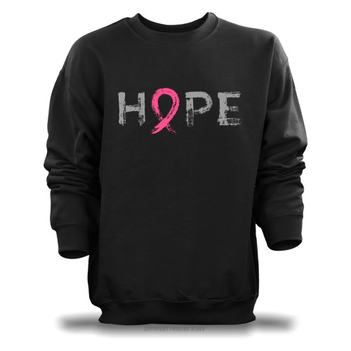 """Hope"" - Breast Cancer Awareness  Unisex Sweatshirt"