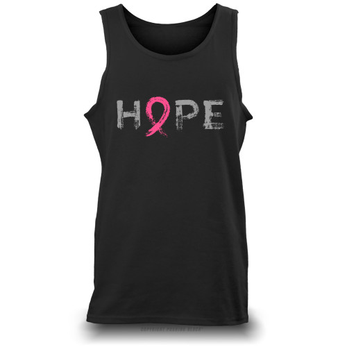 """Hope"" - Breast Cancer Awareness  Unisex Tank Top"