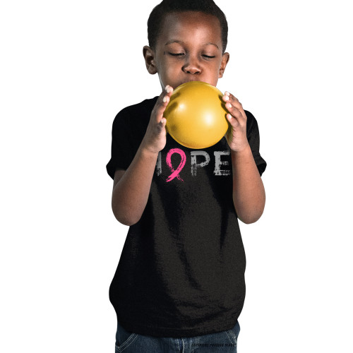 """Hope"" - Breast Cancer Awareness  Youth T-Shirt"