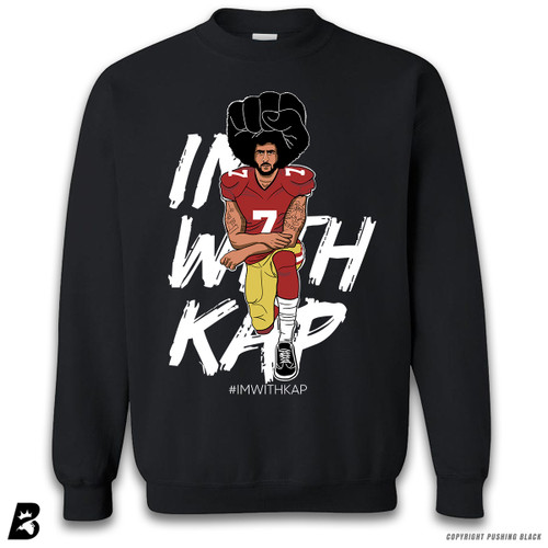 ''Colin Kaepernick Kneeling IMWITHKAP' Premium Unisex Sweatshirt