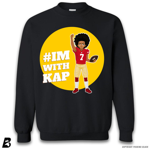 ''Colin Kaepernick - Huey Freeman from The Boondocks Kneeling' Premium Unisex Sweatshirt