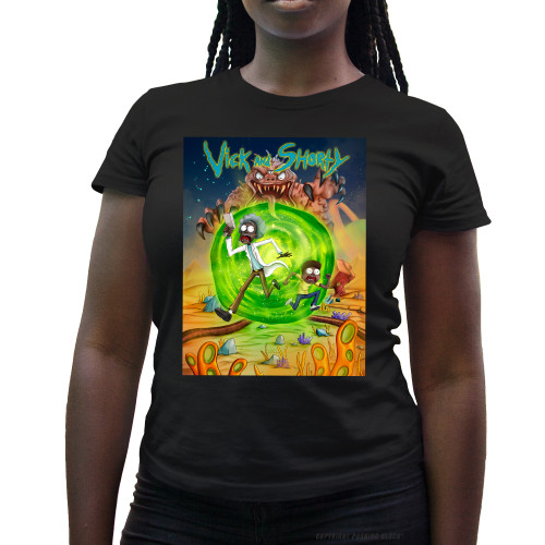 Vick and Shorty Adventure Ladies T-Shirt