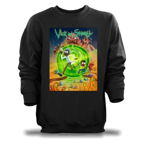 Vick and Shorty Adventure Unisex Sweatshirt