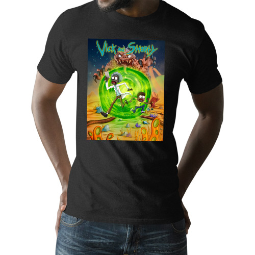 Vick and Shorty Adventure Unisex T-Shirt