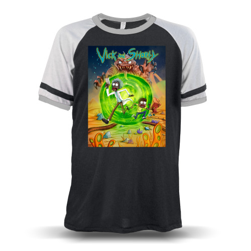 Vick and Shorty Adventure Unisex Raglan T-Shirt