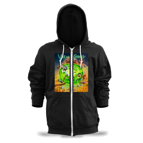 Vick and Shorty Adventure Unisex Zipper Hoodie