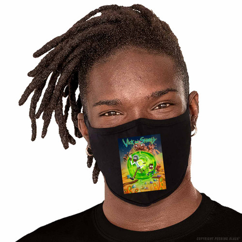Vick and Shorty Adventure Washable Face Mask