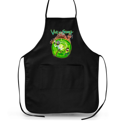 Vick and Shorty Apron