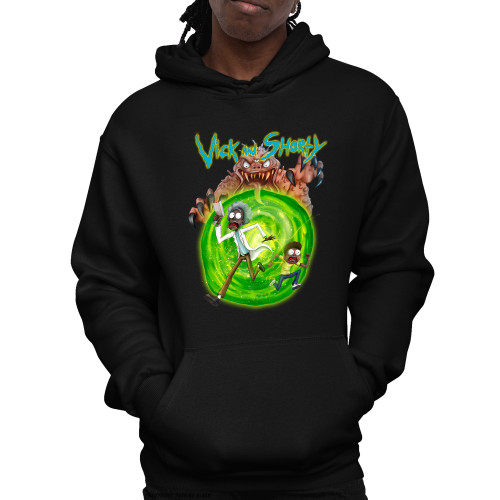 Vick and Shorty Unisex Pullover Hoodie