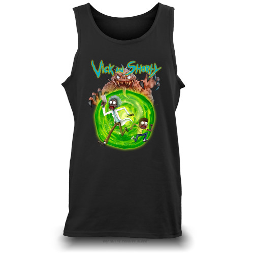Vick and Shorty Unisex Tank Top