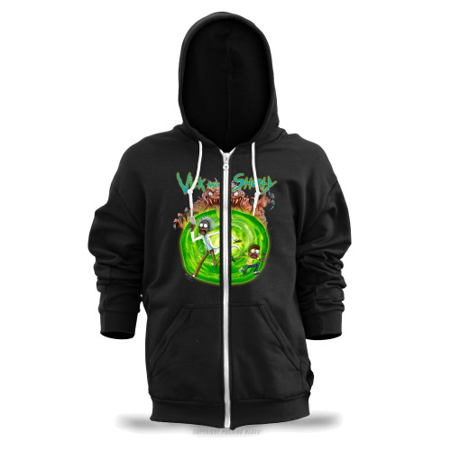 Vick and Shorty Unisex Zipper Hoodie