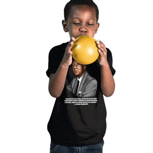 A. Philip Randolph - Salvation Comes From Within Youth T-Shirt