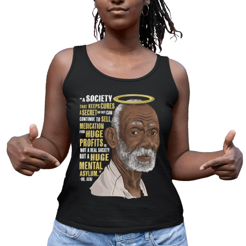 Dr. Sebi - A Huge Mental Asylum Ladies Tank Top