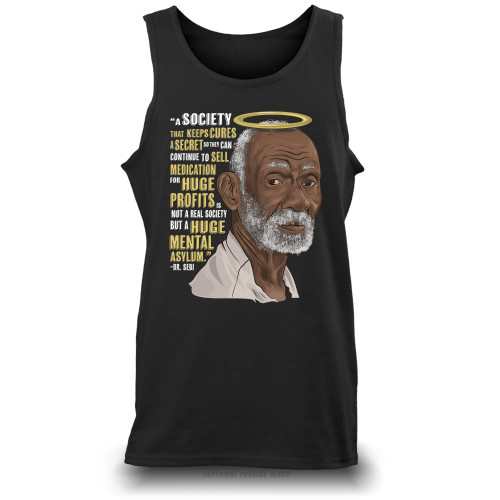 Dr. Sebi - A Huge Mental Asylum Unisex Tank Top