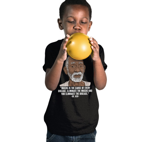 Dr. Sebi - Mucus Is The Cause Youth T-Shirt