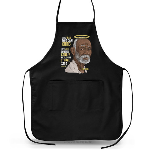 Dr. Sebi - The Man Who Can Cure Apron