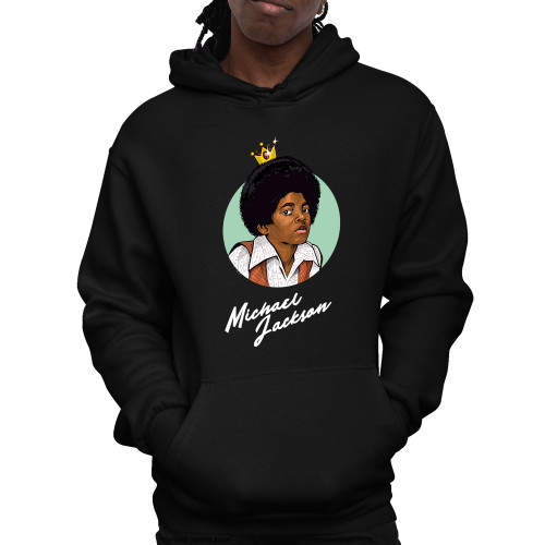 Michael Jackson The King of Pop Unisex Pullover Hoodie