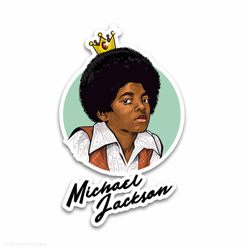 Michael Jackson The King of Pop Weatherproof Vinyl Decal