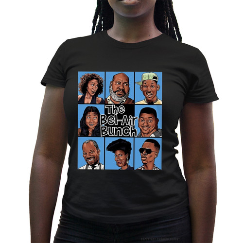 The Bel-Air Bunch Ladies T-Shirt
