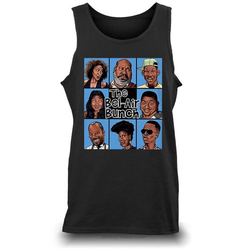 The Bel-Air Bunch Unisex Tank Top