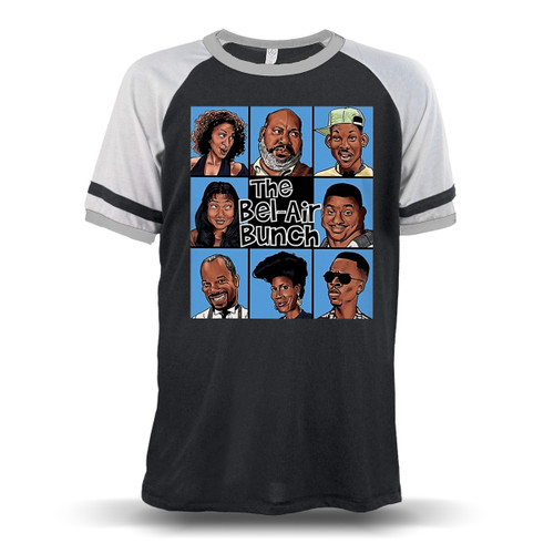 The Bel-Air Bunch Unisex Raglan T-Shirt