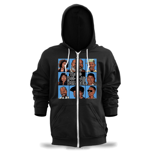 The Bel-Air Bunch Unisex Zipper Hoodie