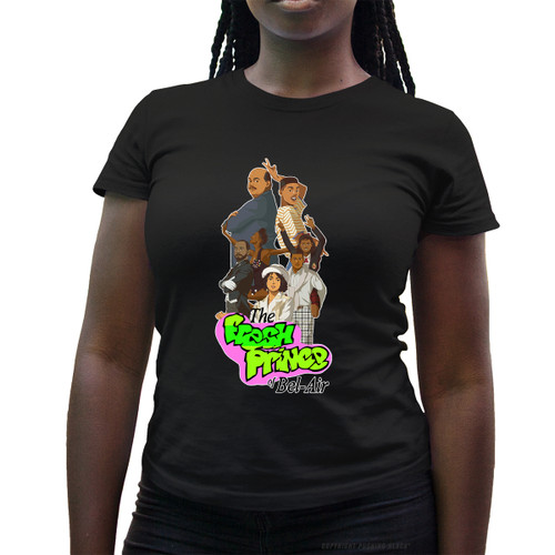 The Fresh Prince of Bel-Air Ladies T-Shirt