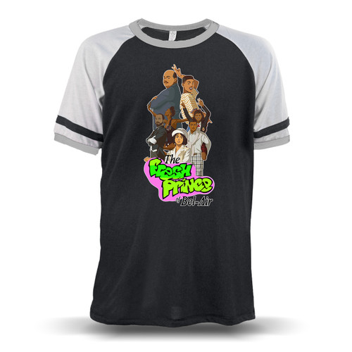 The Fresh Prince of Bel-Air Unisex Raglan T-Shirt