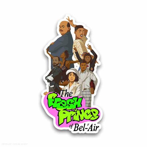 The Fresh Prince of Bel-Air Weatherproof Vinyl Decal