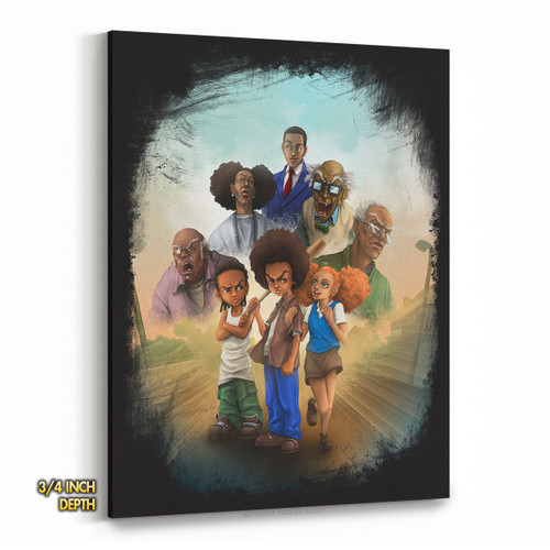 The Boondocks Premium Wall Canvas