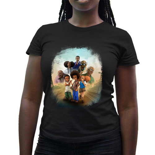 The Boondocks Ladies T-Shirt