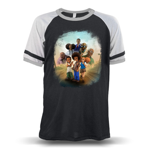 The Boondocks Unisex Raglan T-Shirt