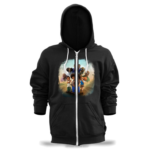 The Boondocks Unisex Zipper Hoodie