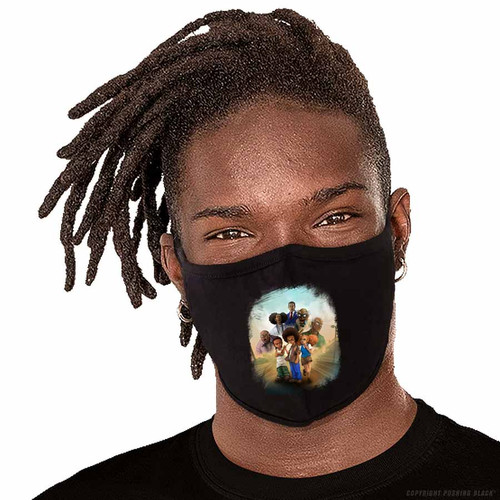 The Boondocks Washable Face Mask