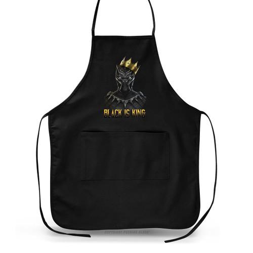 Black is King - Black Panther Apron